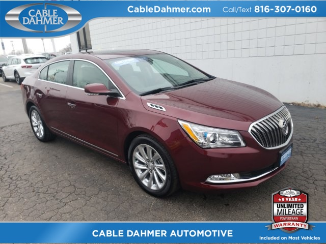 Certified Pre Owned 2016 Buick Lacrosse Leather Group Fwd 4d Sedan