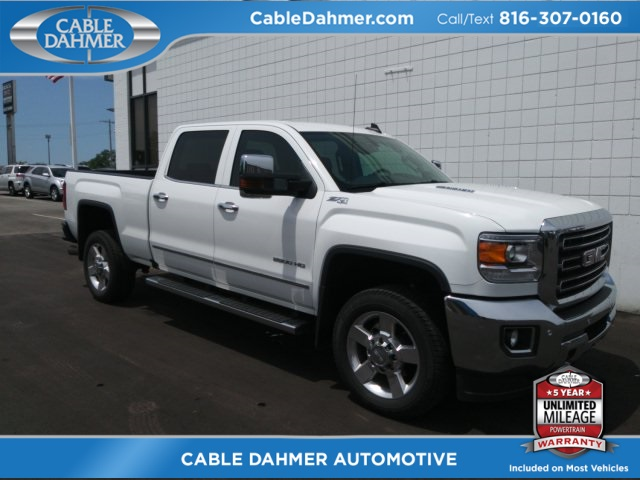 Cable Dahmer Gmc >> Pre Owned 2016 Gmc Sierra 2500hd Slt 4wd