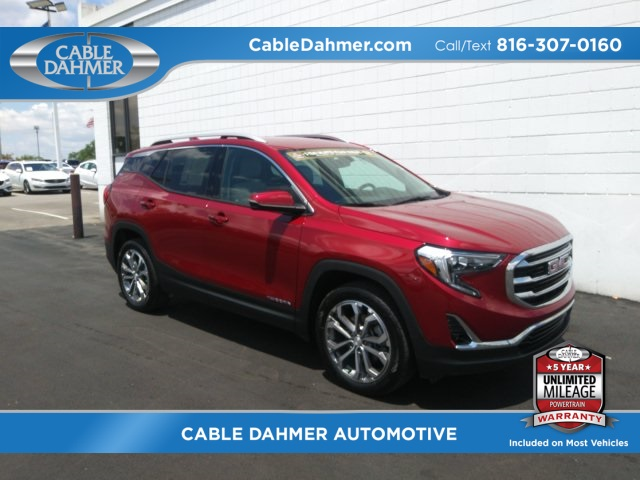 Cable Dahmer Gmc >> Pre Owned 2018 Gmc Terrain Slt Fwd 4d Sport Utility