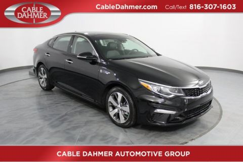 New 2019 Kia Optima S FWD 4D Sedan