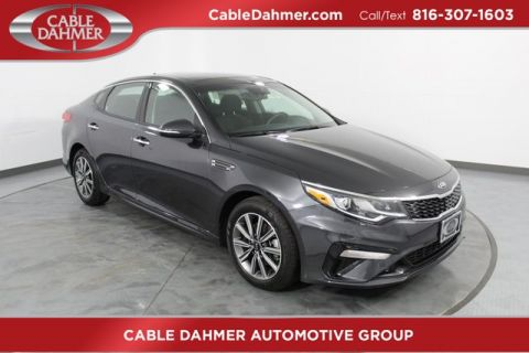 New 2019 Kia Optima LX FWD 4D Sedan